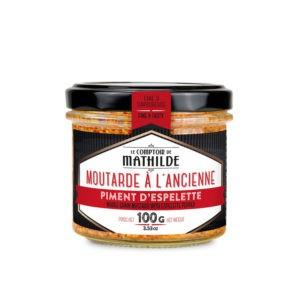 Moutarde – Piment d'Espelette 100g