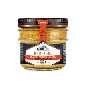 Moutarde – Tomate séchée & basilic 250g