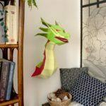 Dragon – Trophée en papier