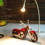 Motocyclette – Rouge