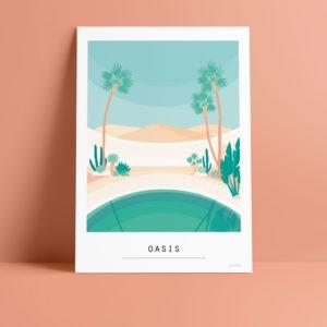 Carte A6 – Oasis