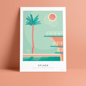 Carte A6 – Splash