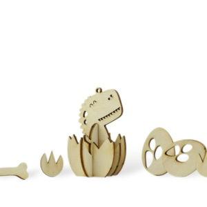 Les p'tits bidules en bois – Dino