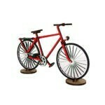 Vélo en bois – Rouge
