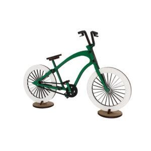 Vélo en bois – Vert