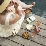 Croustiche – Petits pois grillés au thym et ail