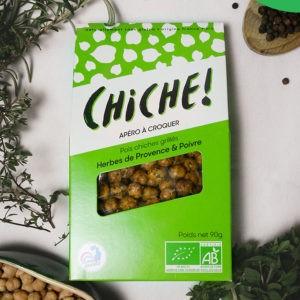 Croustiche – Pois chiches aux herbes de Provence