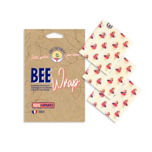 Bee Wrap – Pack 3 X taille S