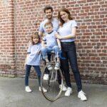 Baptiste – T-shirt vélo bleu clair