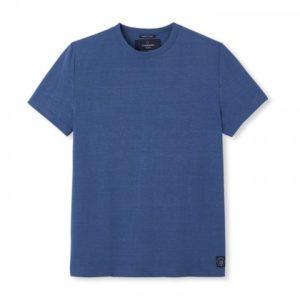 Colbert – T-shirt lin bleu