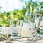 Coffret verre à eau – Abeille