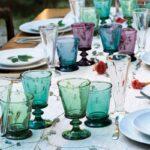 Coffret verre à eau – Abeille couleur
