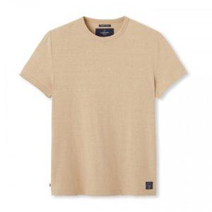 Colbert – T-shirt lin beige