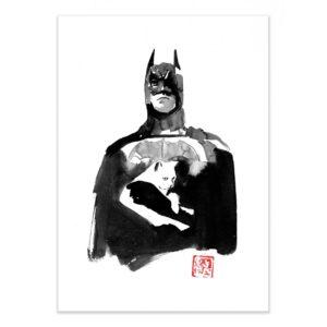 Batman cat – Affiche 30 X 40
