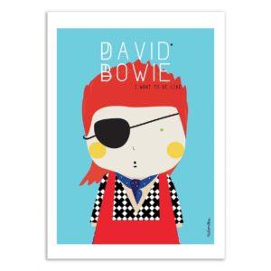 David Bowie – Affiche 30 X 40
