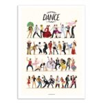 Everybody dance now – Affiche 30 X 40