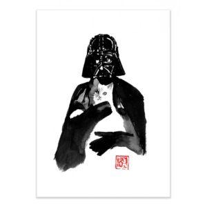 Dark vador cat – Affiche 30 X 40