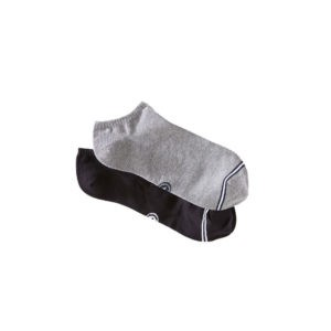 Duo de socquettes – Noir et gris