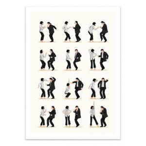 Pulp fiction dance – Affiche 30 X 40