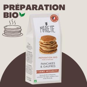 Préparation pour Pancakes