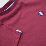 T-shirt BIO – Bordeaux