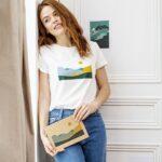 Palmyre – T-shirt paysage